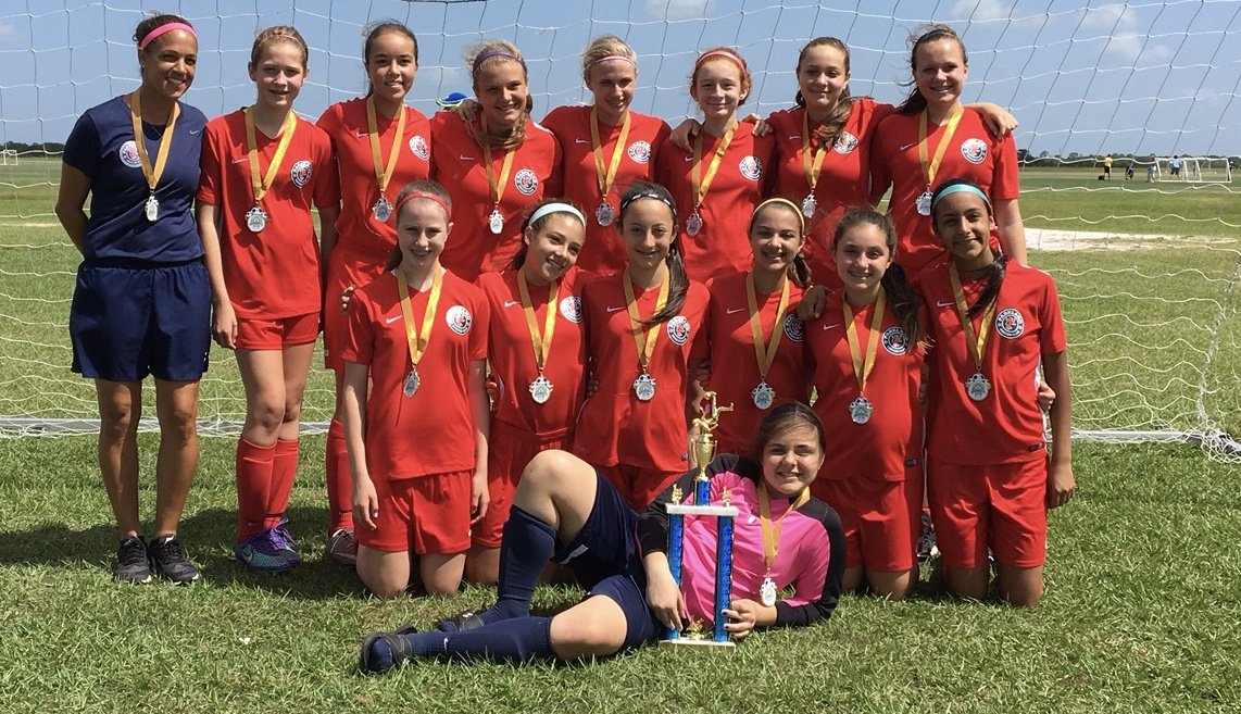 U13 Girls InterState Cup Champions!