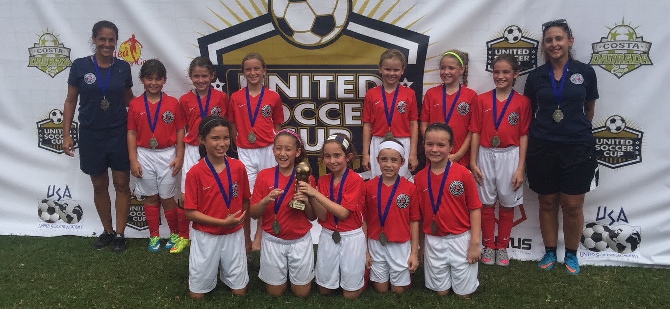 U10 Girls- United Soccer Cup Champions