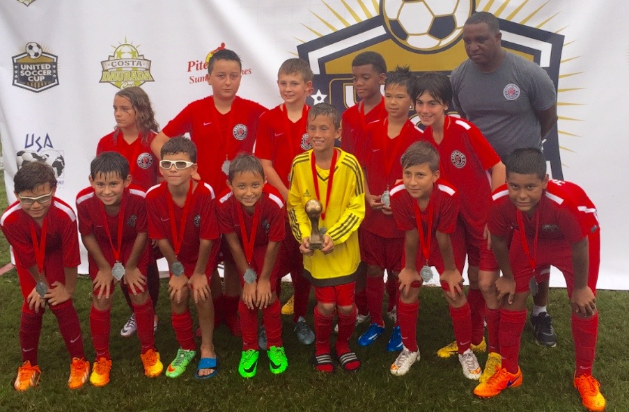U12 Boys Team United Soccer Cup Finalists